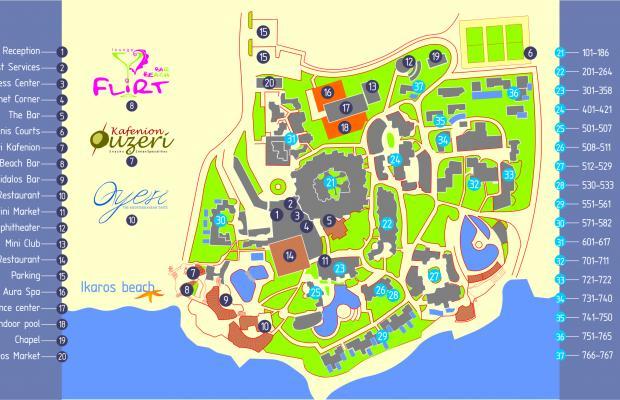 фотографии отеля Ikaros Beach Luxury Resort and Spa (ех. Ikaros Village Beach Resort & Spa) изображение №31