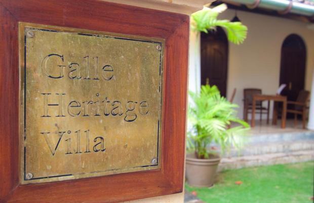 фотографии Galle Heritage Villa изображение №16